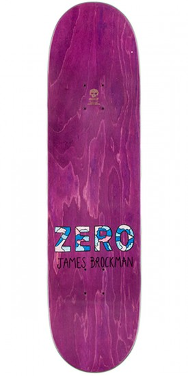Zero Re-Portrait R7 Skateboard Complete - James Brockman - 8.375""