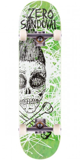 Zero Sandoval Dark Ages Impact Light Skateboard Complete - 8.25""