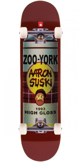 "Zoo York High Gloss Aaron Suski Skateboard Complete - 8.25"" - Blem"