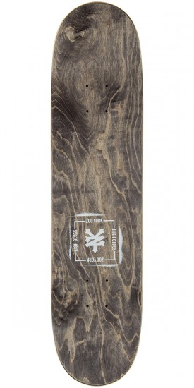 Zoo York High Gloss Team Skateboard Deck - 7.75""
