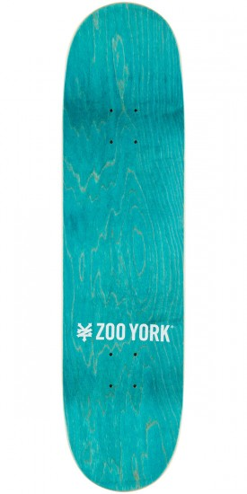 Zoo York Liberty League Skateboard Deck - Blue - 8.25""