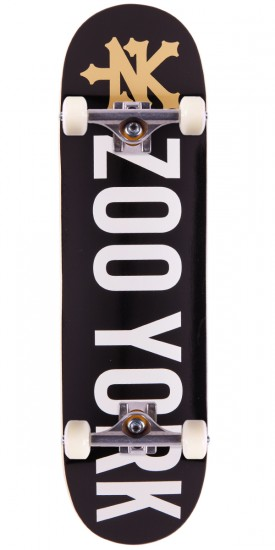 Zoo York Photo Incentive Skateboard Complete - Black - 8.0""