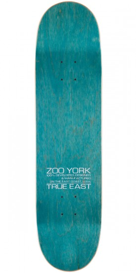 Zoo York Photo Incentive Skateboard Complete - Rasta - 8.125""