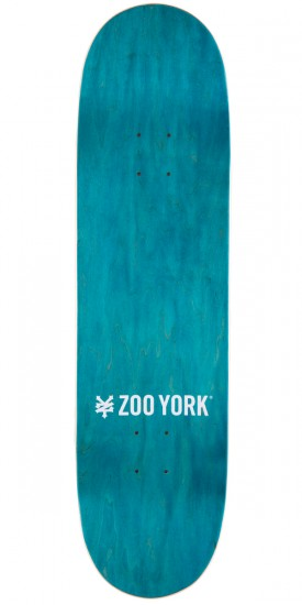Zoo York ZY/XY Pattern Series Skateboard Complete - White - 8.5""