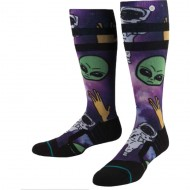 Stance Space Out Snowboard Socks - Purple