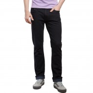 CCS Banks Slim Straight Fit Jeans - Washed Black