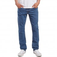CCS Banks Slim Straight Fit Jeans - Washed Light Blue