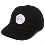 CCS Dog Gnaw Strapback Hat - Black