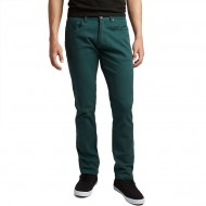 CCS Slim Fit 5 Pocket Twill Pants - Teal
