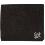 Santa Cruz Basic Dot Bi-Fold Wallet - Black