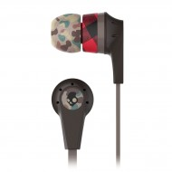 Skullcandy Ink'd 2.0 Mic'd Headphones - Brown/Camo/Black