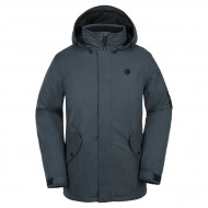 Volcom Padron Insulated Snowboard Jacket - Vintage Navy