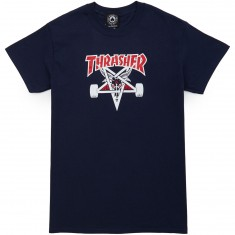Thrasher Two-Tone Skategoat T-Shirt - Navy