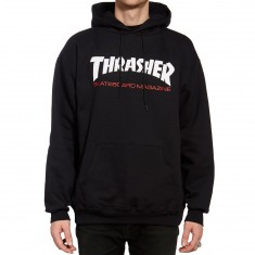 Thrasher Two-Tone Skate Mag Hoodie - Black