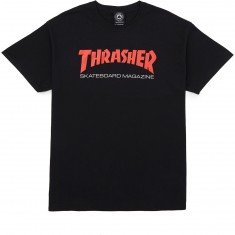 Thrasher Two-Tone Skate Mag T-Shirt - Black