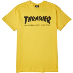 Thrasher Skate Mag T-Shirt - Yellow
