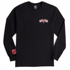 aa17f906de Thrasher Racing Long Sleeve T-Shirt - Black