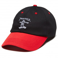 3626050b026 Thrasher Gonz Old Timer Hat - Black Red