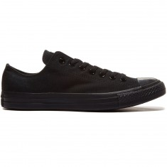 Converse Chuck Taylor All Star Lo Shoes - Mono Black