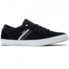 DVS Epitaph Shoes - Black/White Suede
