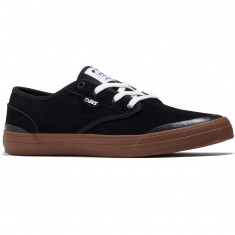 DVS X Enjoi Wallin Cedar Shoes - Black Suede
