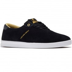 DVS Rico SC Shoes - Black Gold Suede