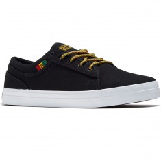 DVS Aversa Shoes - Black Rasta Canvas