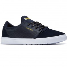 DVS Stratos LT Shoes - Navy Mesh/Spenco