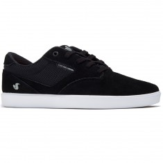 DVS Pressure SC Shoes - Black Suede/Mesh Chino