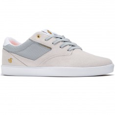 DVS Pressure SC Shoes - Light Grey Suede/Mesh Chico