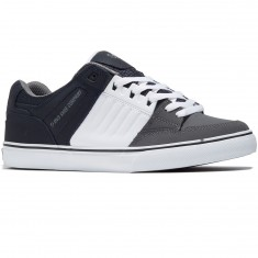 DVS Celsius CT Shoes - Navy/White/Charcoal Leather