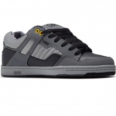 DVS Enduro 125 Shoes - Black/Grey Leather Nubuck Deegan