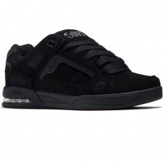 DVS Drone Shoes - Black Leather Nubuck Anderson