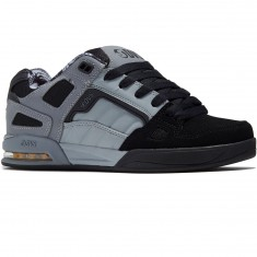 DVS Drone Shoes - Black/Charcoal/Grey Nubuck Deegan