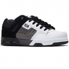 DVS Enduro Heir Shoes - Black/Charcoal/White Leather Nubuck