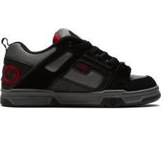 DVS Comanche Shoes - Black/Charcoal Nubuck