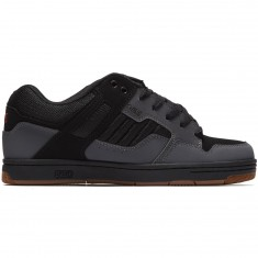 DVS Enduro 125 Shoes - Charcoal/Black Leather Nubuck