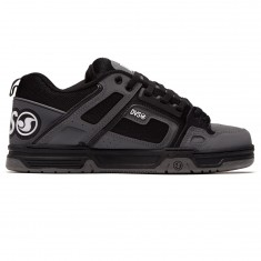 DVS Comanche Shoes - Black/Charcoal Leather