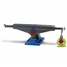 Independent Stage 11 Gonzales Skateboard Trucks - Grey/Blue