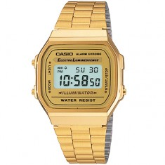 G-Shock A168 Watch - Gold