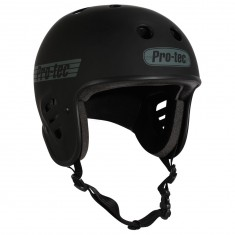 Protec Full Cut Certified Helmet - Matte Black