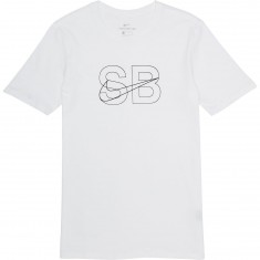 Nike SB Thin Lines T-Shirt - White/Black