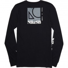 Nike SB Dry T-Shirt - Black/White