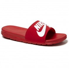 Nike SB Benassi Solarsoft Slide Sandal - Red/White