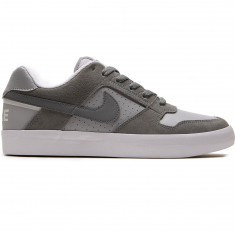 Nike SB Delta Force Vulc Shoes - Cool Grey/Grey Wolf/White