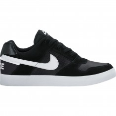 Nike SB Delta Force Vulc Shoes - Black/White/Anthracite