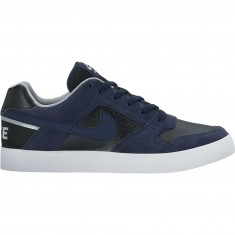 Nike SB Delta Force Vulc Shoes - Obsidian/Black/Wolf Grey