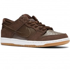 Nike SB Dunk Low Pro Shoes - Baroque Brown/Brown/White