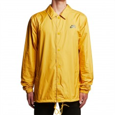 Nike SB Shield Coaches Jacket - Mineral Gold/Obsidian