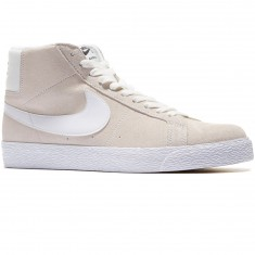 Nike SB Blazer Premium SE Shoes - White/Gum/Black